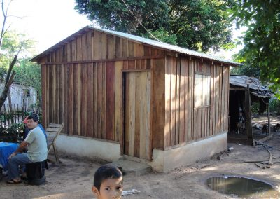 """""""Oga pora guype"""" Habitat improvement and construction of houses for the community of the Inmaculada neighborhood in Caaguazú"""