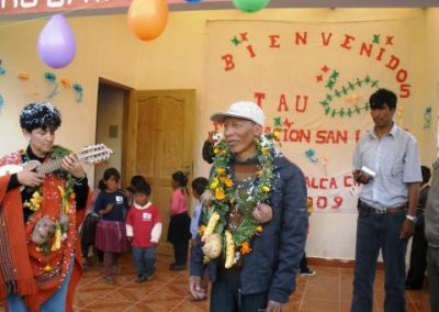 Strengthening of work in health and education for 20 UAINAs of the Dep. Cochabamba