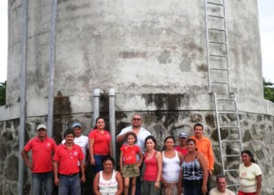 Drinking water supply system in the María Auxiliadora community (Municipality of Aguilares)