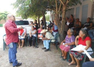 Drinking water system for 309 people Community Avenida El Paisnal