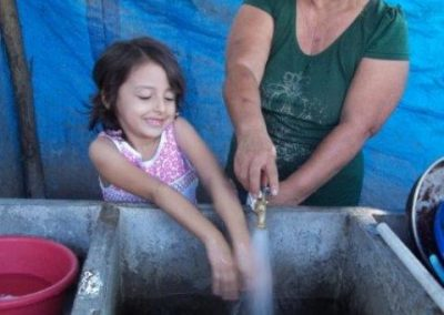 Drinking water system in the Santiago Torres community, El Paisnal municipality