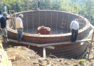 Drinking water supply system for the Las Tunas and Cartagena Bolívar communities.