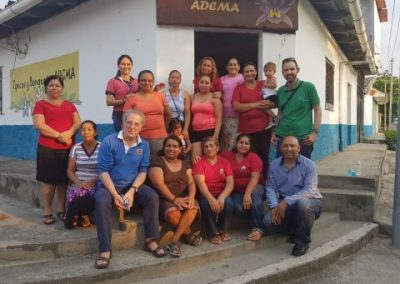 Strengthen the organizational, participatory and economic capacities of 3 women's Associations in the Municipalities of Aguilares, El Paisnal and S. Pablo Tacachico