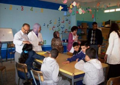 Improving care for children with disabilities in Salé-Rabat
