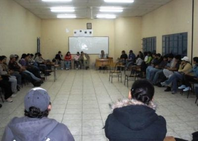 Agricultural University Education for 60 people from rural communities in poverty in Caaguazú