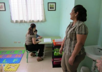 Strengthening psycho-pedagogical care service for autistic children without resources in Bonao