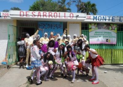 Organizational strengthening and improved participation of women and youth from Monte Largo