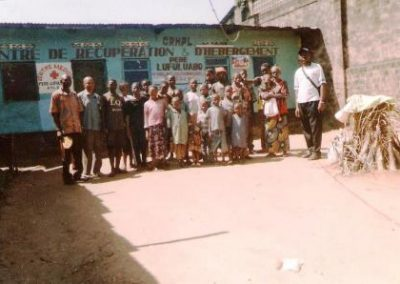 """Rehabilitation """"Recovery and Welcome Center for abandoned children P. Lufuluabo"""