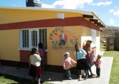 Construction 4 UAINAS: Units of Comprehensive and Nutritional Assistance for children