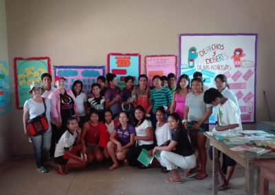 Strengthen healthy and violence-free life for indigenous children and adolescents Sirionó de Ibiato and Pata de Aguila