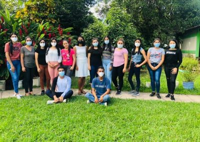 Bolstering the organizational, participation and economic capabilities of rural youth in the municipalities of Aguilares, El Paisnal and San Pablo Tacachico where the local population is vulnerable to Covid-19 infection.