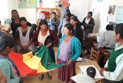 Promoting communities free of violence based on gender and discrimination, with a focus on Rights in the Chayanta province, Potosí