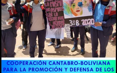 The Parliament of Cantabria – in Santander – hosts an exhibition on the rights of indigenous women in Bolivia.
