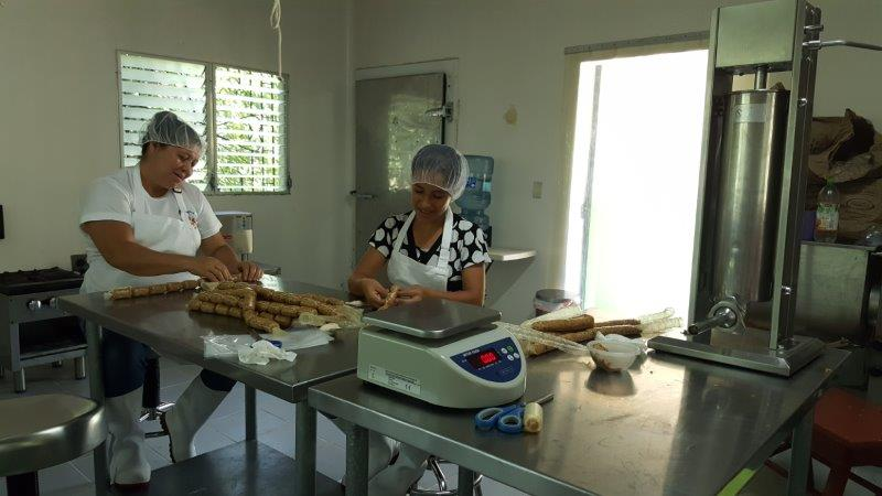 Strengthening of business management and productive chain, of the Cooperative Association of women ACOMADEGUA de R.L. Phase II